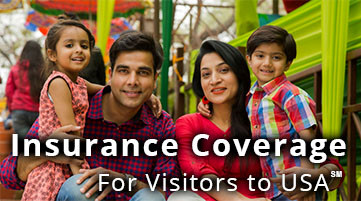 Insurance Coverage for Visitors to USA℠